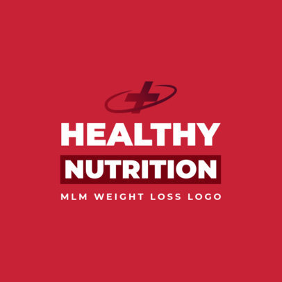 Network Marketing Logo Generator for Weight Loss Supplements 3830d