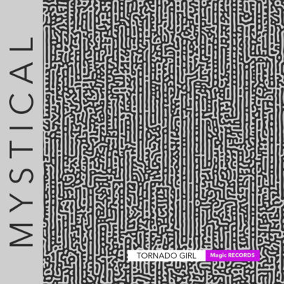 Album Cover Creator for a Chill-Out Music Mix with an Abstract Pattern 3195e-el1