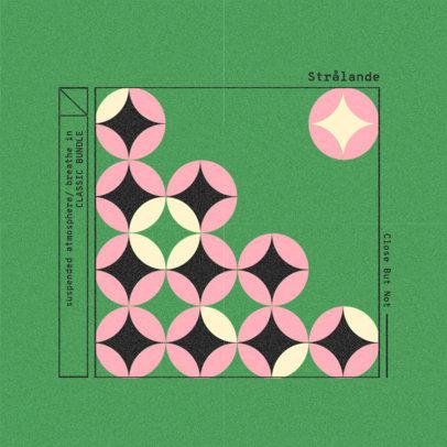 Classic Music Album Cover Generator Featuring a Circle Pattern 3160e