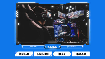 Twitch Overlay Generator for a Gaming Tournament with a Stats Banner 3220e-el1