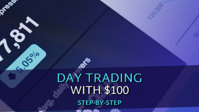 YouTube Thumbnail Maker for a Day Trading Expert 3167b