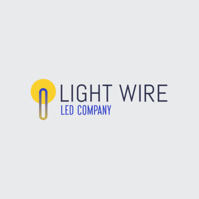 Lighting Company Logo Maker for a Dropshipping Business 3868