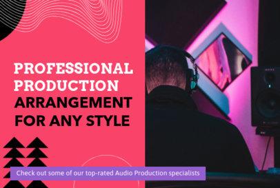 Modern Fiverr Gig Image Creator for a Freelance Producer 3239f