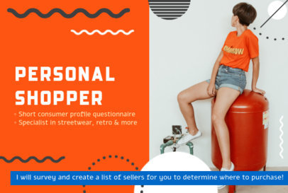 Minimalist Fiverr Gig Image Creator for a Personal Shopper 3239h