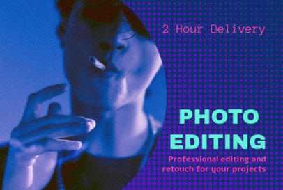 Fiverr Gig Image Generator for a Photo Editing Professional 3238a