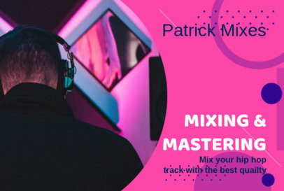 Fiverr Gig Image Maker for Music Mixing and Mastering Services 3238c