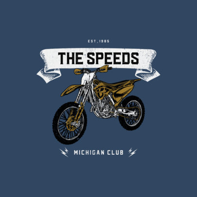 Online Logo Creator for Biker Clubs 3278b-el1