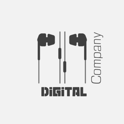 Dropshipping Logo Generator for a Digital Sound Company 3912k