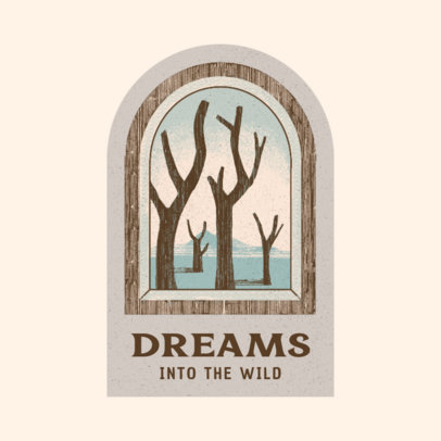 Online Logo Maker With a Dreamlike Landscape Illustration 3910c