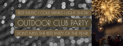 Outdoor Party Facebook Cover Creator 1867d