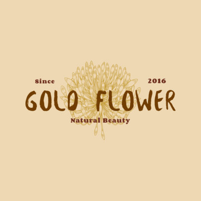 Logo Generator for a Natural Beauty Brand 3928j