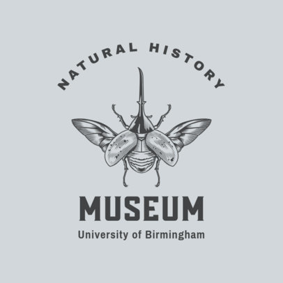 Logo Creator for a Museum of Natural History 3934b