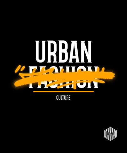 Quote T-Shirt Design Creator with Graffiti Covering Text 3249j