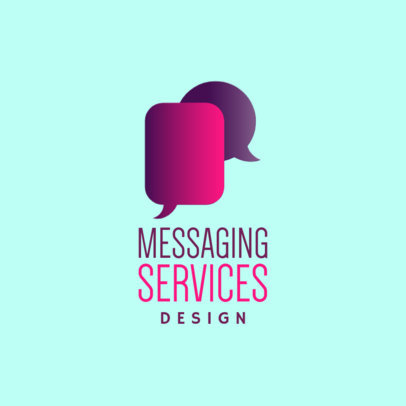 Logo Template for a Messaging Services Company 3970a