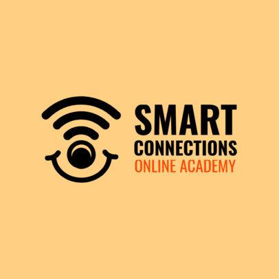 Minimal Logo Template for an Online Kids' Academy 3978I