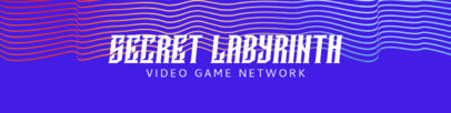 Gaming-Themed Patreon Cover Generator Featuring an Abstract Background 3401d-el1