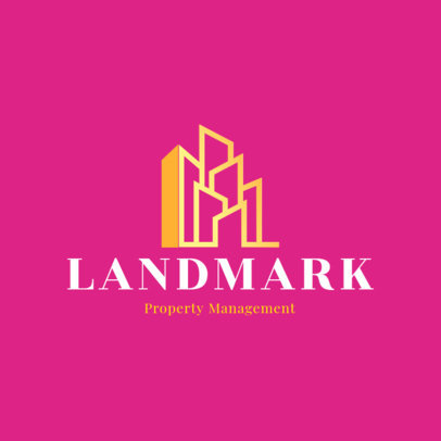 Logo Maker for a Property Management Agency Featuring a Contemporary-Aesthetic Icon 3991I