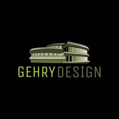 Modern Logo Template for Architecture Firms 3988e