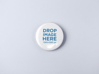 Big Button Template Lying on a Solid Surface a15081