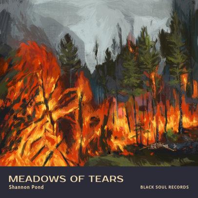 Soul Album Cover Maker Featuring Melancholic Paintings 3319