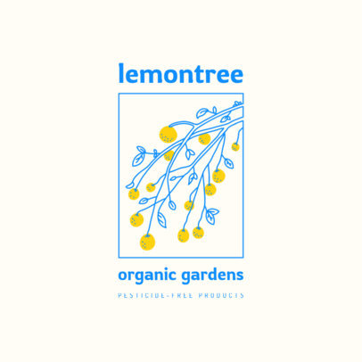 Logo Maker for Organic Brands Featuring Nature Graphics 4009