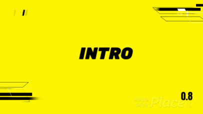 Colorful Intro Video Maker for Gamers Featuring Dynamic Animations 2677