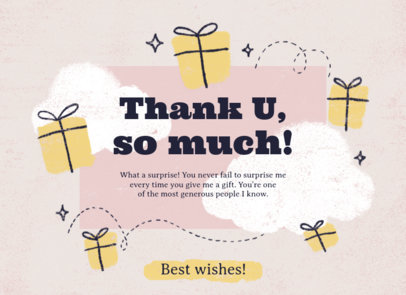 Greeting Card Design Template Featuring Encouraging Messages 3350
