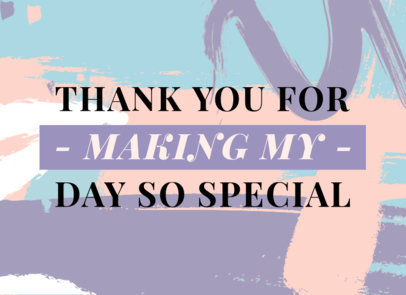 Modern Greeting Card Design Creator for a Special Day 3348b