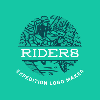 Logo Generator for a Riders' Expedition Agency 4020c
