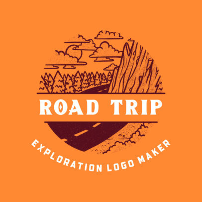 Logo Maker for a Road Trips Travel Club 4020l