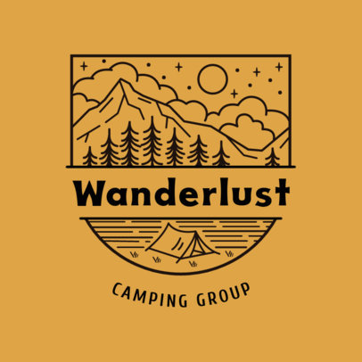 Logo Generator for an Outdoors Camping Group 4020s