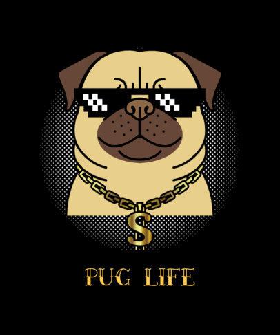 Funny T-Shirt Design Maker with Dog Puns 140c