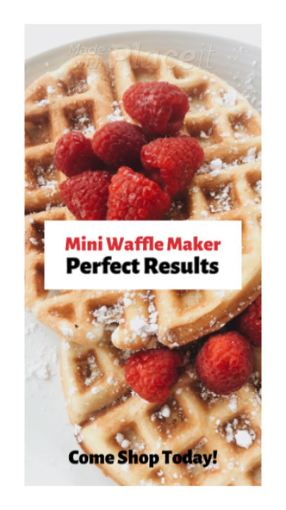 Instagram Story Video Maker for a Breakfast Restaurant 1490a 2725