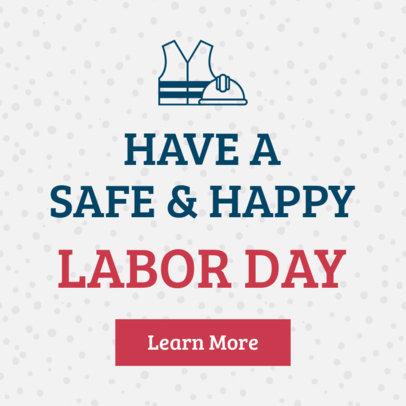 Labor Day Banner Maker for a Website 875-16614d