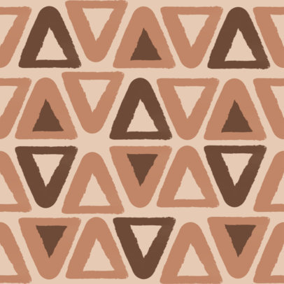 Seamless Print Pattern Design Featuring Triangles 3363a