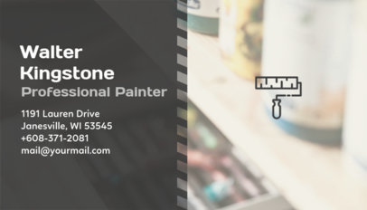 Business Card Generator for a Professional Painter 230c