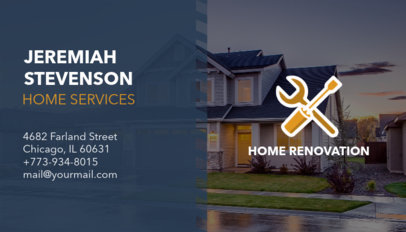 Business Card Creator for a Home Service Firm 230d