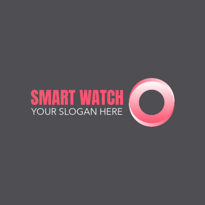 Logo Template for a Smartwatch Dropshipper 4068a