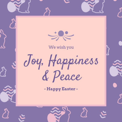 Instagram Post Generator to Share an Easter-Related Quote 3390d
