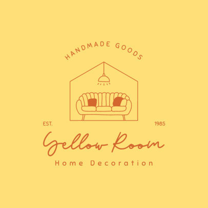 Dropshipping Logo Maker for Handmade Home Decoration Goods 4063f