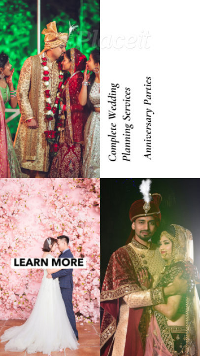Instagram Story Video Creator for a Wedding Planner Service Offer 1565g-2730