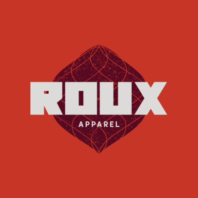 Streetwear Logo Generator Featuring Abstract Graphics With a Distressed Texture 4081