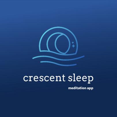 Minimal Logo Maker for a Meditation App 4083