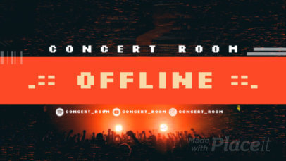 Twitch Offline Screen Video Generator for Music Streaming Channels 2658