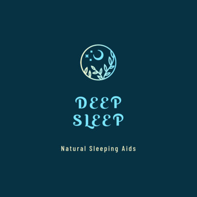 Logo Template for Natural Sleeping Aid Products 4085a
