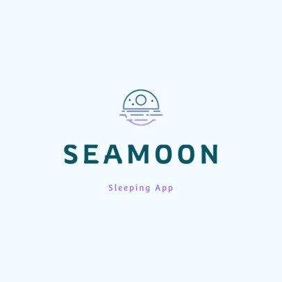 Online Logo Creator for a Sleeping Aid Mobile App 4085b