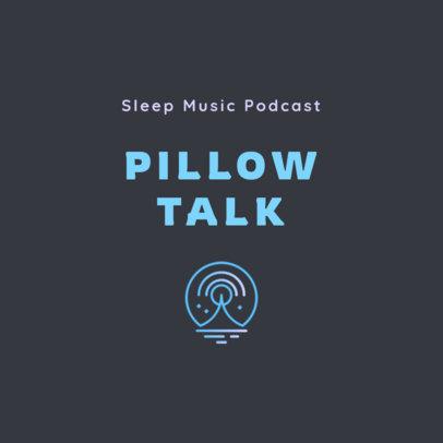 Podcast Logo Maker for Sleeping Music 4085e