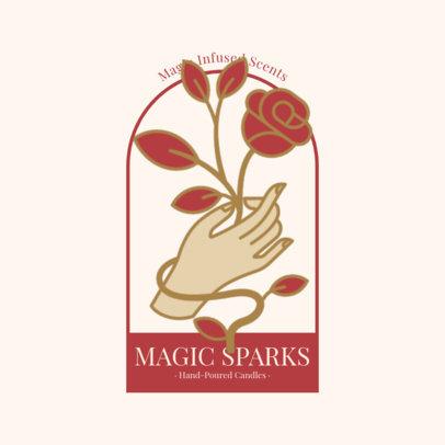 Online Logo Maker for Handmade Candle Brands 3585-el1