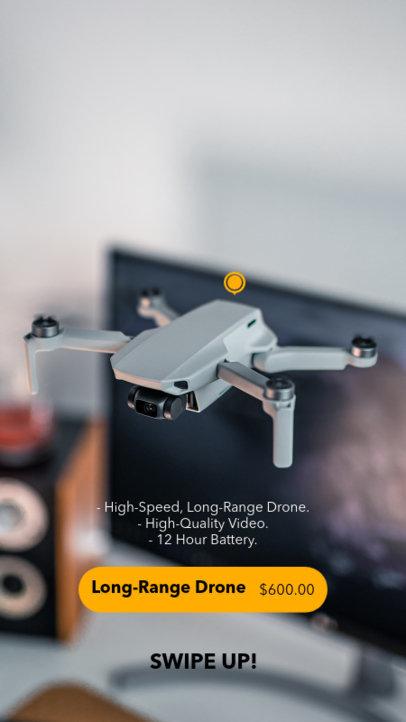 Instagram Story Design Maker for a Tech Gadget Dropshipping Store 3565-el1
