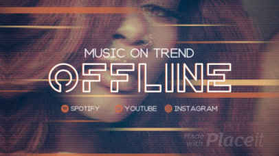 Twitch Offline Screen Video Maker for an RnB Musician 2650